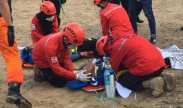 TAGANA အဖွဲ့မှ ကျင်းပပြုလုပ်သည့် HOW TO PREPARE FOR THE DISASTER AND HOW TO HANDLE THE DISASTER သင်တန်းသို့ BFM မှ တာဝန်ရှိသူတစ်ဦးတက်ရောက်