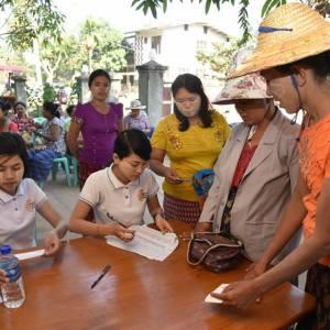 အနာဂတ်အလင်းတန်းမြန်မာဖောင်ဒေးရှင်း၊ အသေးစား ငွေရေးကြေးရေးလုပ်ငန်းမှ အသင်းသား ချေးငွေအဖွဲ့ဝင်များ၏ ကျန်းမာရေးစောင့်ရှောက်မှု အစီအစဉ် ပြုလုပ်ကျင်းပ။