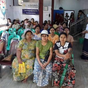 အနာဂတ်အလင်းတန်းမြန်မာဖောင်ဒေးရှင်း၊ အသေးစားငွေရေးကြေးရေးလုပ်ငန်းမှ အသင်းသား ချေးငွေ အဖွဲ့ဝင်များ၏ ကျန်းမာရေးစောင့်ရှောက်မှု အစီအစဉ် ပြုလုပ်။