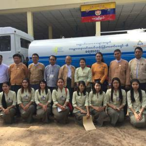 ကမ္ဘောဇအနာဂတ်အလင်းတန်းမြန်မာဖောင်ဒေးရှင်းမှ ပခုက္ကူမြို့နယ်အတွက် ရေသယ်ယာဉ်အသစ် ပေးအပ်လှူဒါန်း။