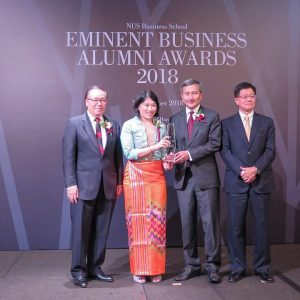NUS confers Alumni Award on Deputy CEO of KBZ