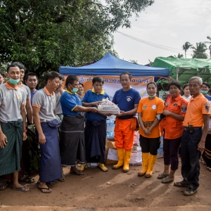 Brighter Future Myanmar Foundation Supports Displaced Persons in Mon State following Major Landslide which was Triggered by Monsoon Rains